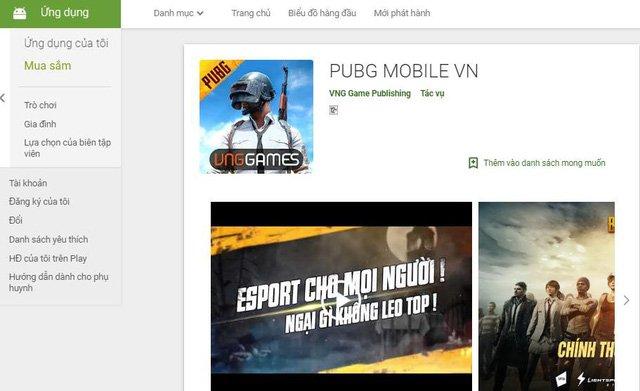 PUBG Mobile phiên bản VNG chính thức lộ diện trên Goolge Play và App Store - Ảnh 2.