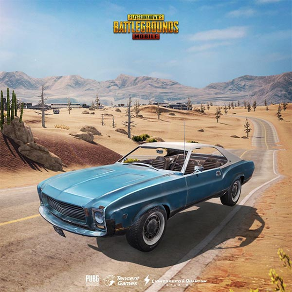 Xe Muscle Car trong PUBG Mobile