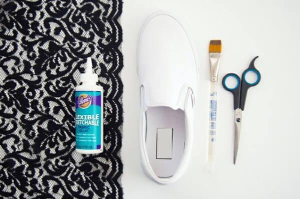 Lột xác cho đôi giày sneaker của bạn với 5 hướng dẫn custom giày DIY cực hay ho Ảnh 12