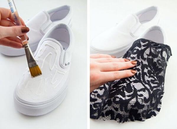 Lột xác cho đôi giày sneaker của bạn với 5 hướng dẫn custom giày DIY cực hay ho Ảnh 13